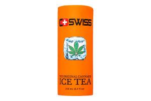 Напій Swiss холодний чай з сиропом коноплі 250мл