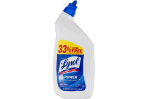 Lysol Toilet Bowl Cleaner Power