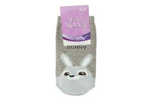Шкарпетки жіночі Легка Хода №5380 23 сірий меланж