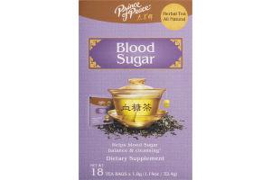 Prince of Peace Blood Sugar Tea Bags - 18 CT