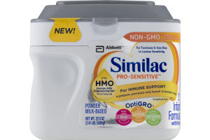 Similac Pro-Sensitive For Immune Support Infant Formula with Iron
