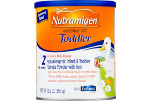 Nutramigen Toddler Hypoallergenic Infant & Toddler Formula Powder with Iron