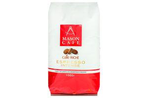 Кофе натуральный жареный в зернах Espresso Intense Mason Cafe м/у 1000г