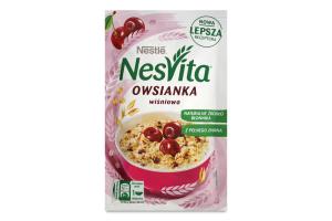 Каша вівсяна солодка з молоком та шматочками вишні Nesvita м/у 45г