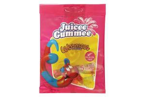 Цукерки Juicee Gummee Черв`ячки 80г х20