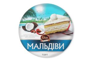 Торт Мальдіви БКК к/у 850г