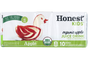 Honest Kids Organic Juice Drink Apple - 10 CT