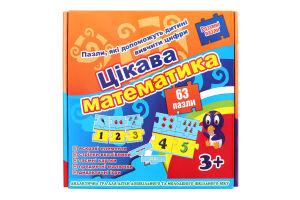Гра розважальна для дітей від 3років №532 Цікава Математика Strateg 1шт