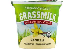 Organic Valley Grassmilk Cream On Top - Whole Milk Yogurt Vanilla