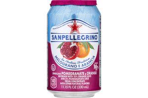 Sanpellegrino® Sparkling Juice Beverage Pomegranate & Orange