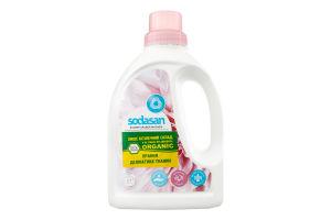 Средство-концентрат органическое жидкое для стирки шерсти, шелка и деликатных тканей Woolen Wash №4507 Sodasan 750мл