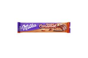 Шоколад молочний з дутим рисом Peanut Caramel Milka м/у 37г