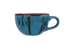 Чашка синяя 220мл Тиффани Манна Групп 1шт