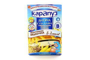 Каша Карапуз с/м 5злаков б/варки 250г
