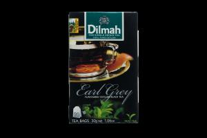 Чай чорний байховий ароматизований Earl Grey Dilmah к/у 20x1.5г