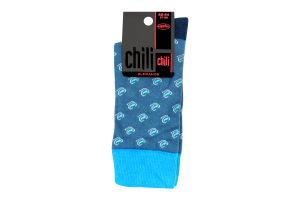 Шкарпетки чоловічі Chili Elegance №163 27-28 точка