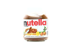 Паста ореховая с какао Nutella ст/б 180г