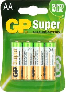 Батарейка GP SUPER LR6 AA 4 шт