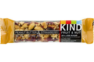 KIND Fruit & Nut Bar Peanut Butter & Strawberry