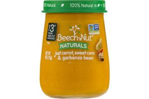 Beech-Nut Naturals Stage 3 Just Carrot, Sweet Corn & Garbanzo Bean