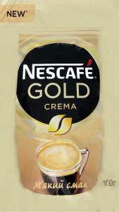 Кава Nescafe Gold Crema 100г х6