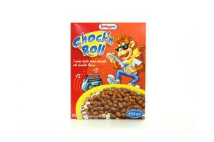 Пластівці Bruggen Chock'n Roll шоколад, 250г