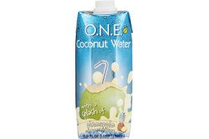 O.N.E. Coconut Water Beverage Pineapple