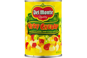 Del Monte Quality Very Cherry Mixed Fruit in a Natural Cherry Flavored Light Syrup