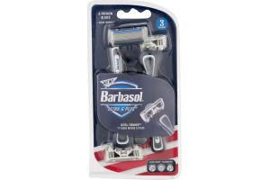 Barbasol Ultra 6 Plus Razors - 3 CT
