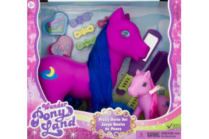 Wonder Pony Land Pretty Horse Set