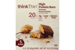 Think Thin Protein & Fiber Bars Creamy Peanut Butter