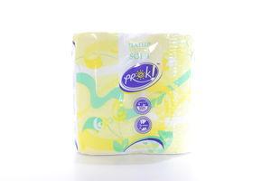 Бумага туалетная 2-х слойная Camomile PrOK 4шт