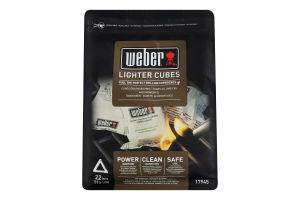 Кубики для розпалювання Weber 22шт