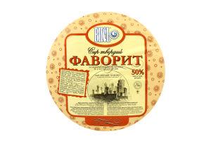 Сыр 50% твердый со вкусом топленого молока Фаворит Вись кг