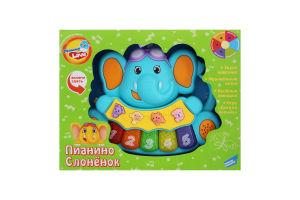 Іграшка для дітей від 3років №855-28А Слоненя Піаніно Mommy Love 1шт