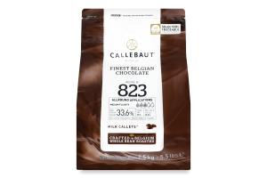 Шоколад 33.6% молочний Callebaut м/у 2.5кг