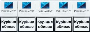 Сигарети з фільтром Aqua Super Slims Parliament 20шт