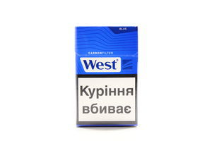 Сигареты West Carbon Filter Blue 20шт