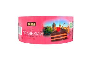 Торт бісквітний Празький з вишнею Tarta к/у 500г