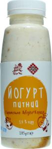 Йогурт Лавка традицій Коза Чка карамельне яблуко,кориця3,4%