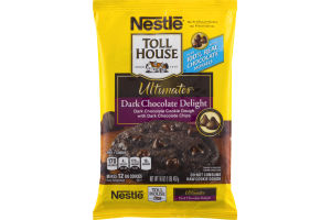 Nestle Toll House Ultimates Dark Chocolate Delight Cookie Dough - 12 CT