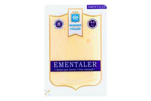 Сир 44% твердий Ementaler Молочна гільдія лоток 0.15кг