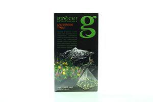 Чай Grace! Alpine Herbs смесь трав и зел чая ф/п пирамидка 20*1,5г