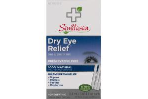 Similasan Dry Eye Relief Single-Use Sterile Eye Drops - 20 CT
