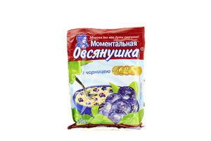Каша овсяная с черникой Овсянушка м/у 40г