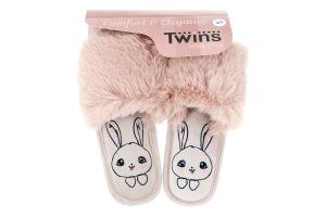 Капці відкриті домашні дитячі Twins №6519 34-35