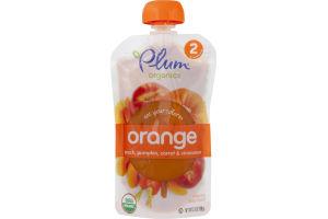 Plum Organics Eat Your Colors Orange