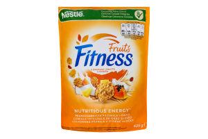 Пластівці з цільної пшениці з фруктами Fruits Fitness д/п 425г