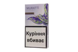 Сигареты с фильтром Zaffiro Eleganza Muratti 20шт
