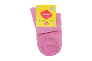 Шкарпетки жіночі Marca №M201L 23-25 рожевий